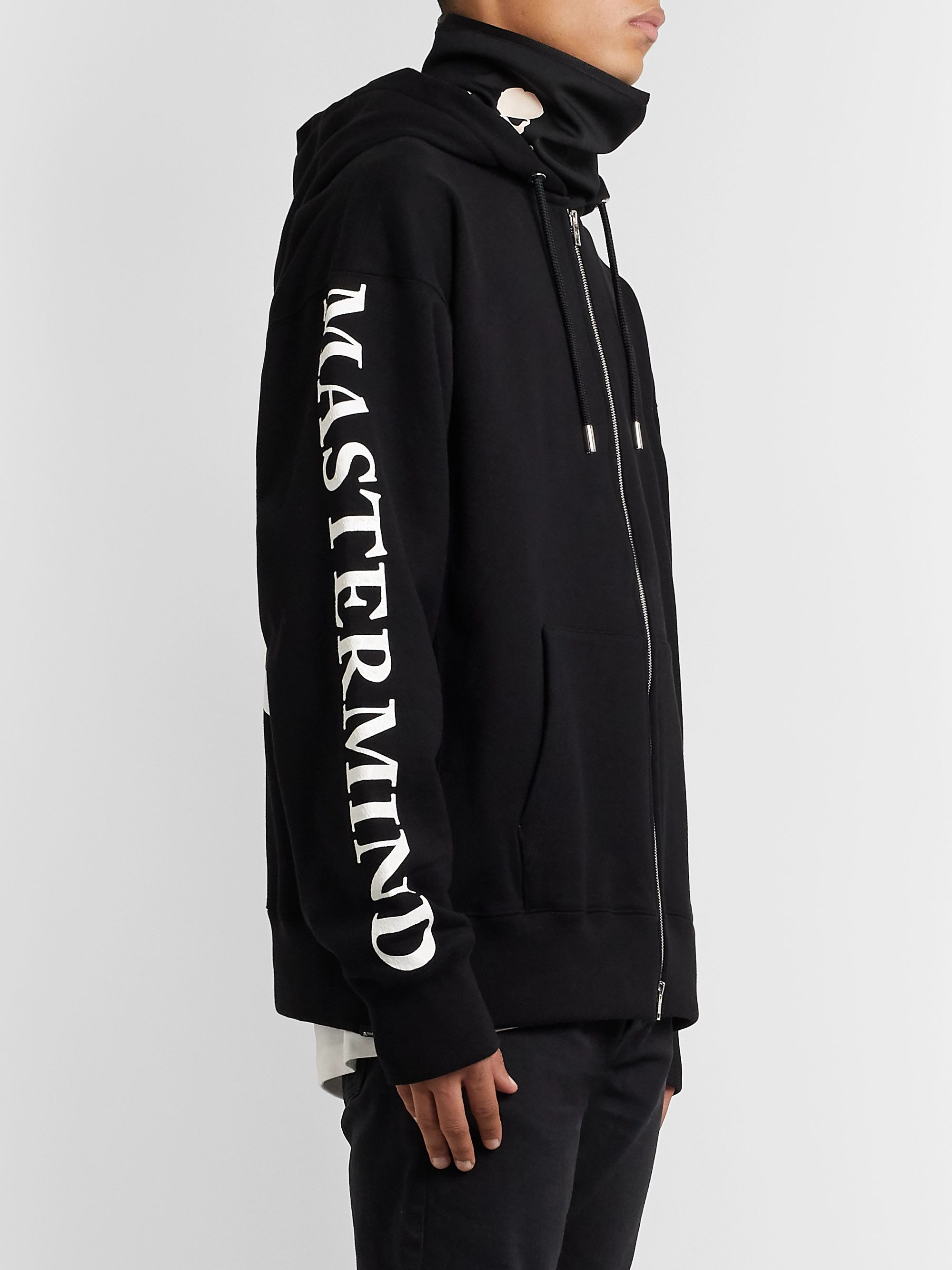 MASTERMIND WORLD Printed Fleece-Back Tech-Jersey Snood