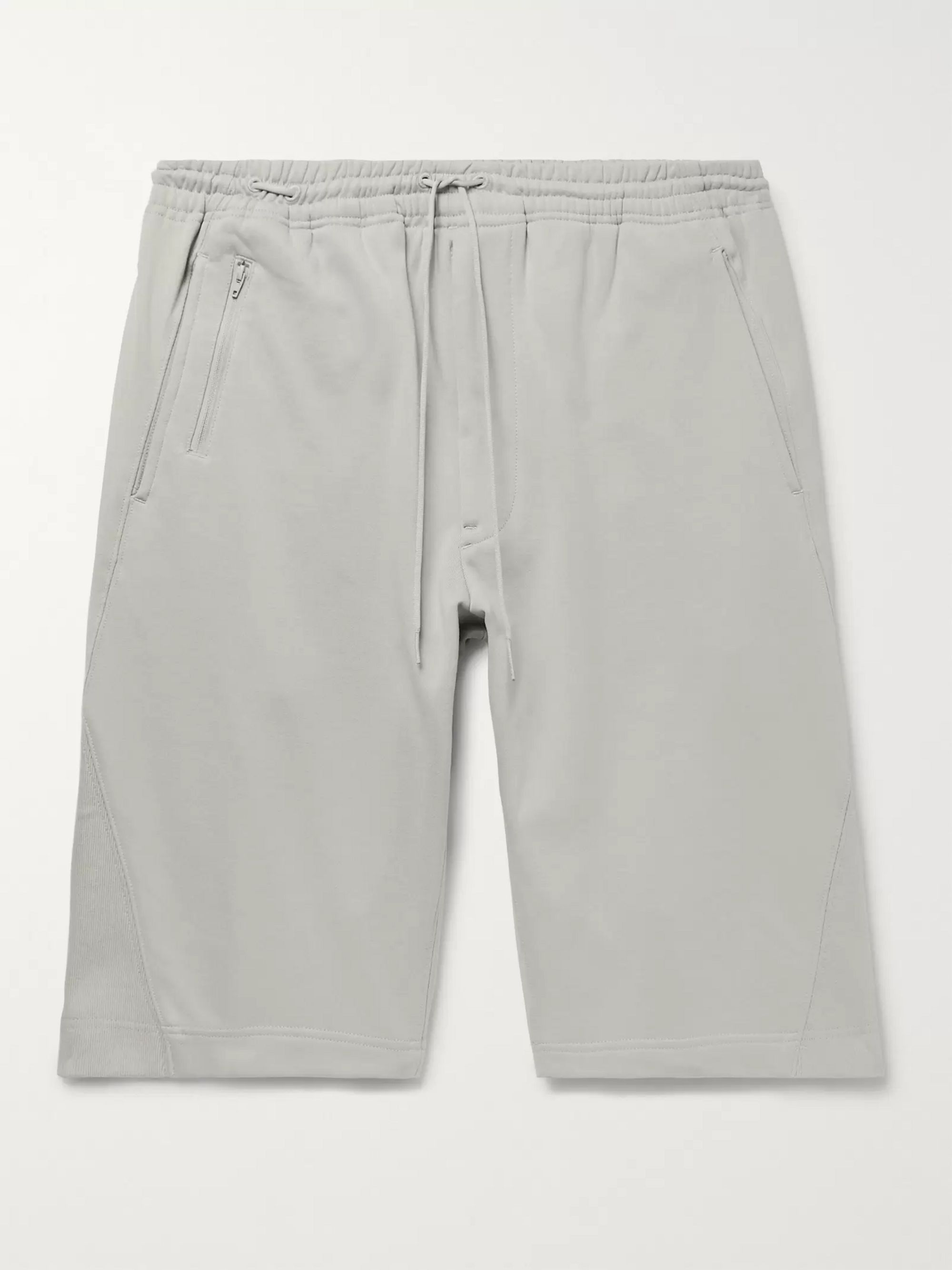 Loopback Cotton Jersey Drawstring Shorts by Y 3