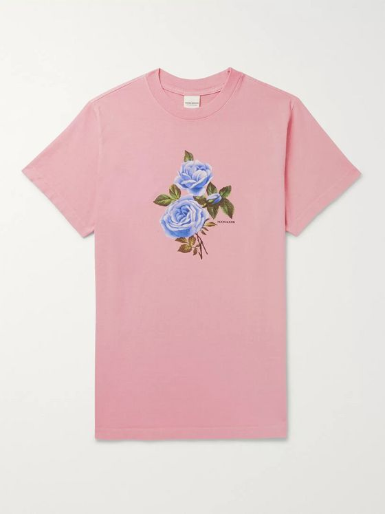 Noon Goons Floral-Print Cotton-Jersey T-Shirt