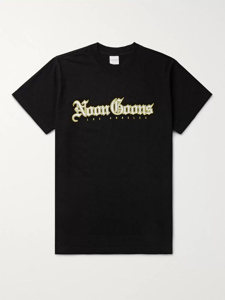 Noon Goons Logo-Print Cotton-Jersey T-Shirt