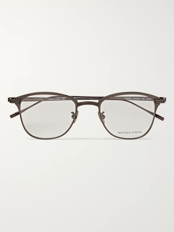 Bottega Veneta D-Frame Titanium Optical Glasses