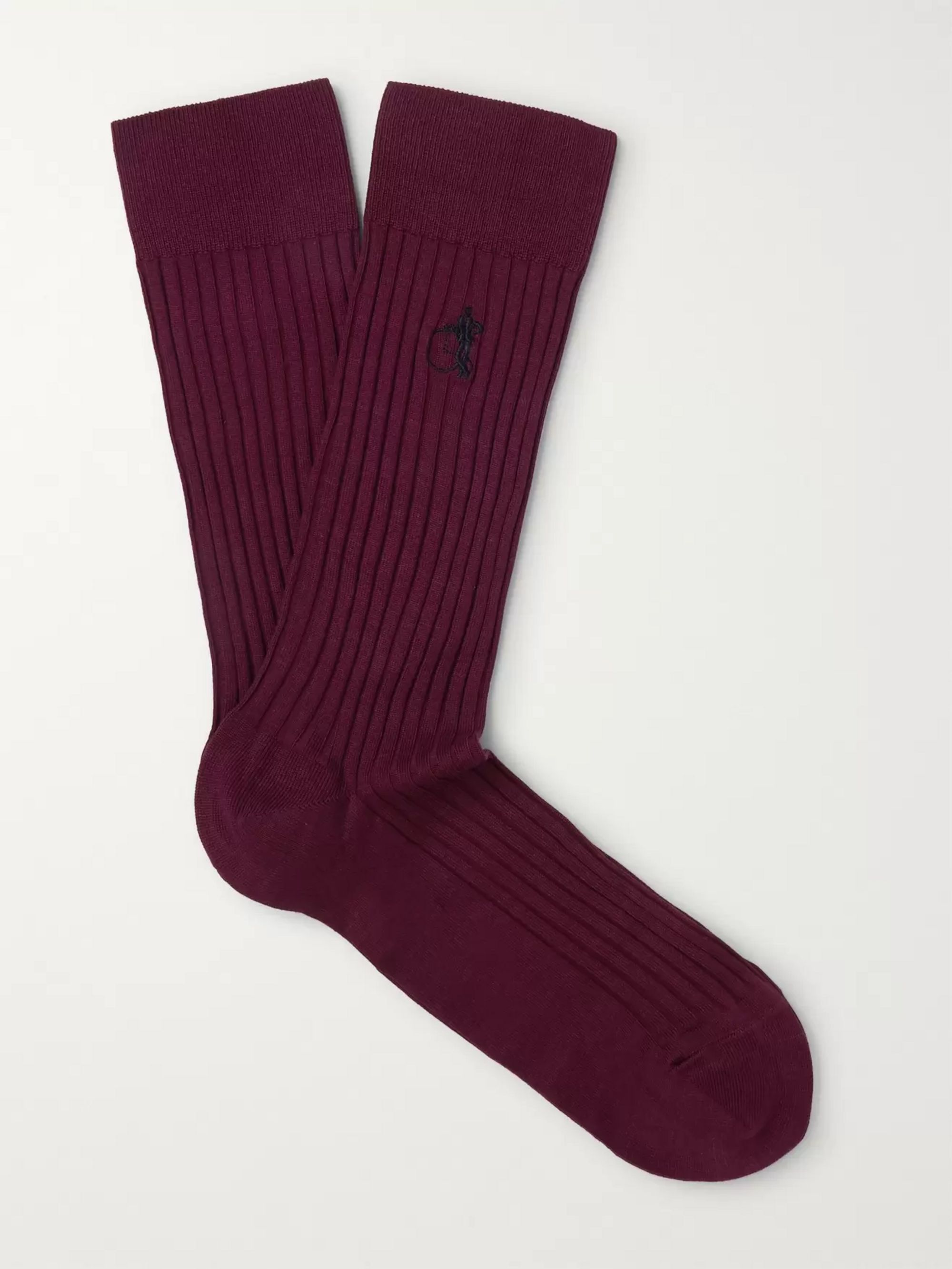 London Sock Co. Six-Pack Cotton-Blend Socks