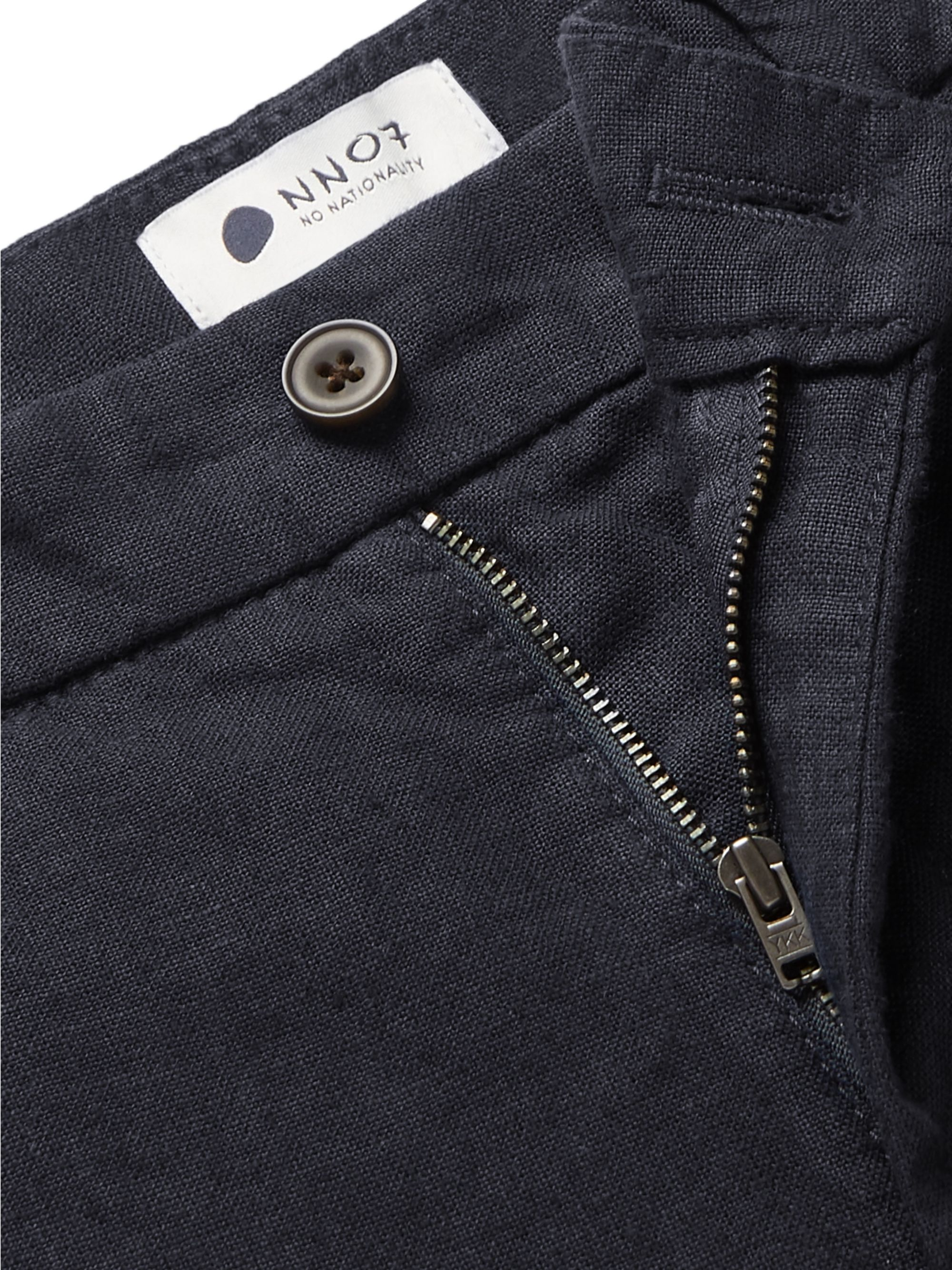 NN07 Karl Slim-Fit Tapered Linen Trousers