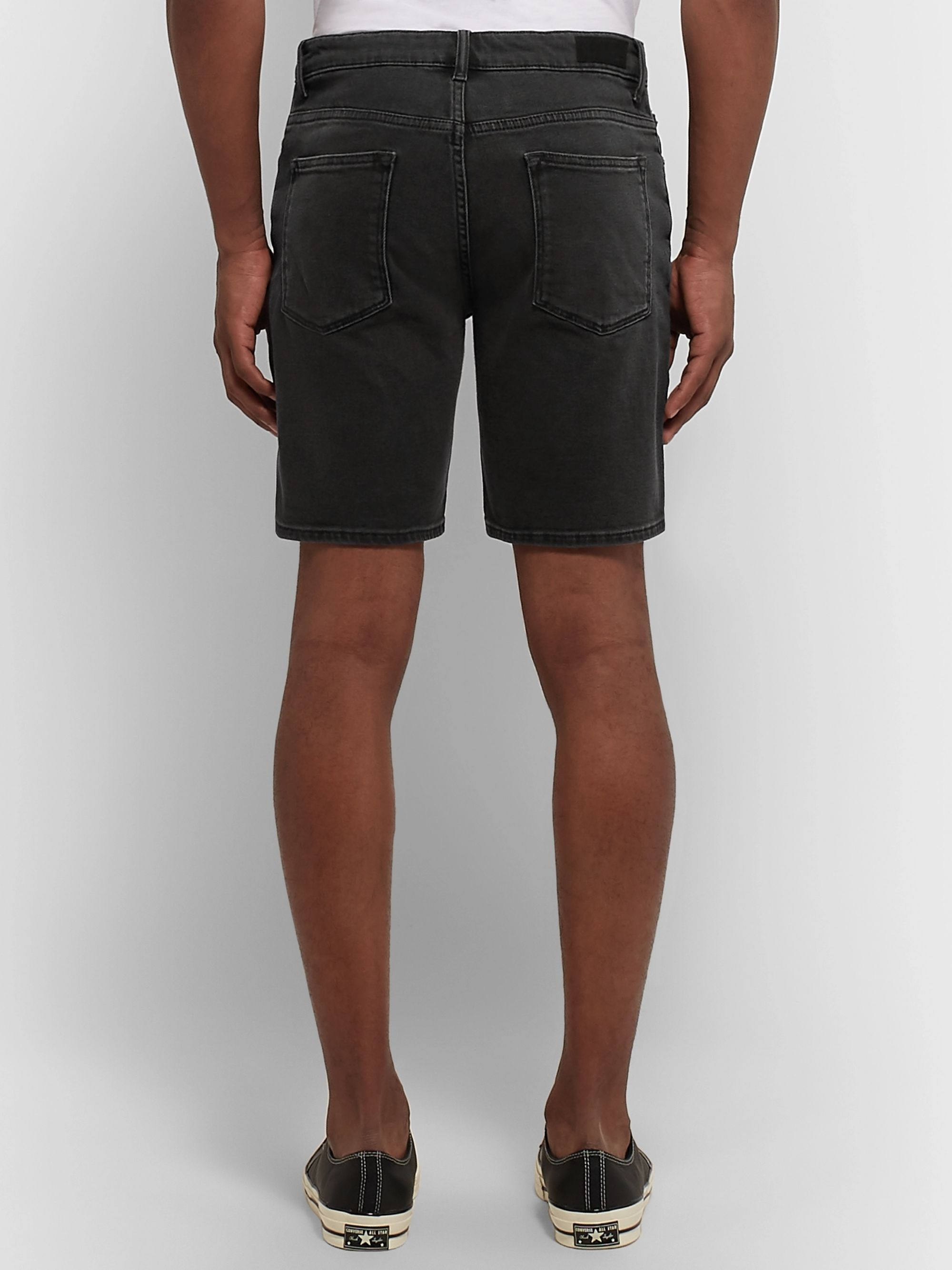 NN07 Slim-Fit Stretch-Denim Shorts