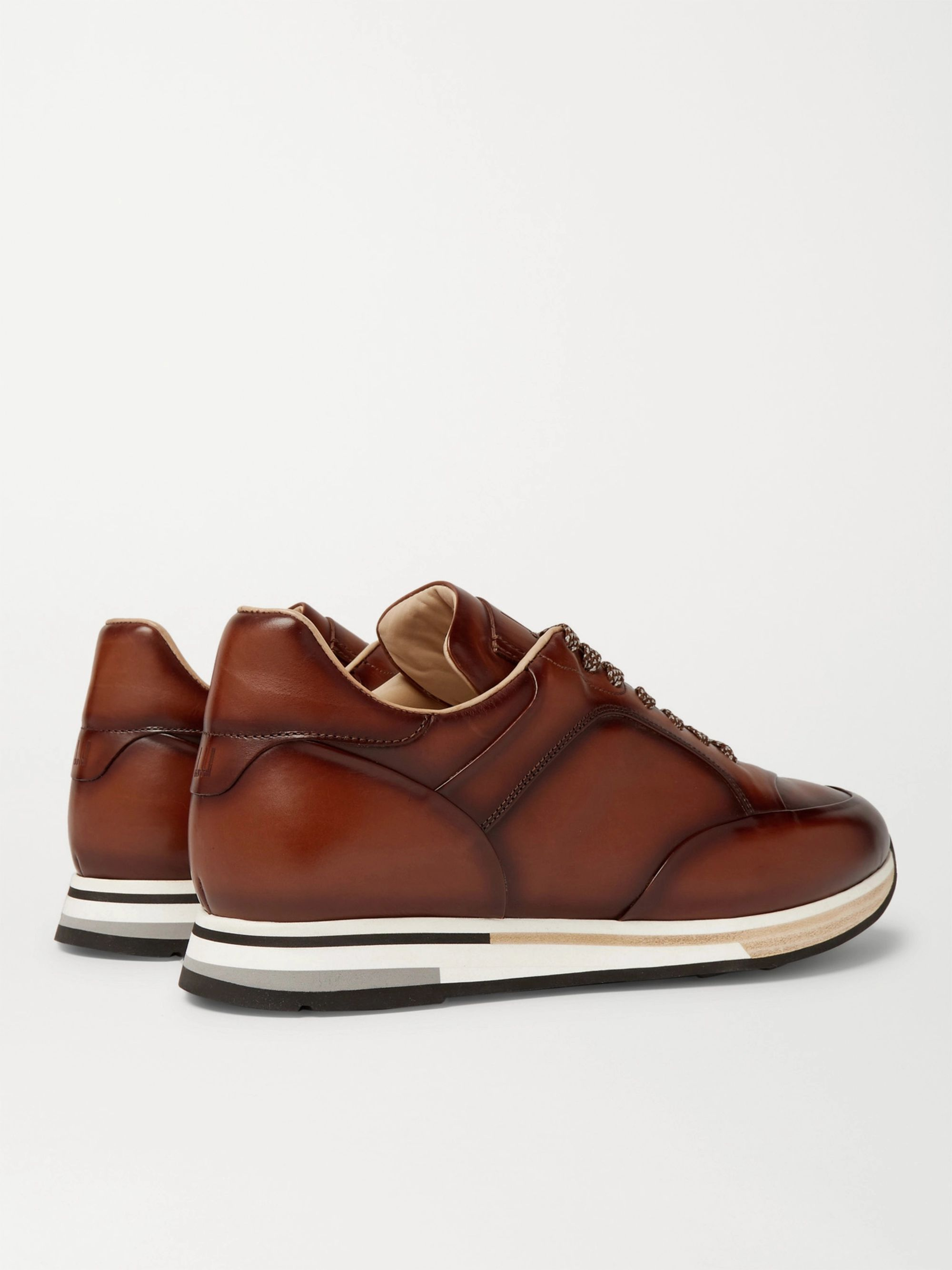 Dunhill Duke Leather Sneakers