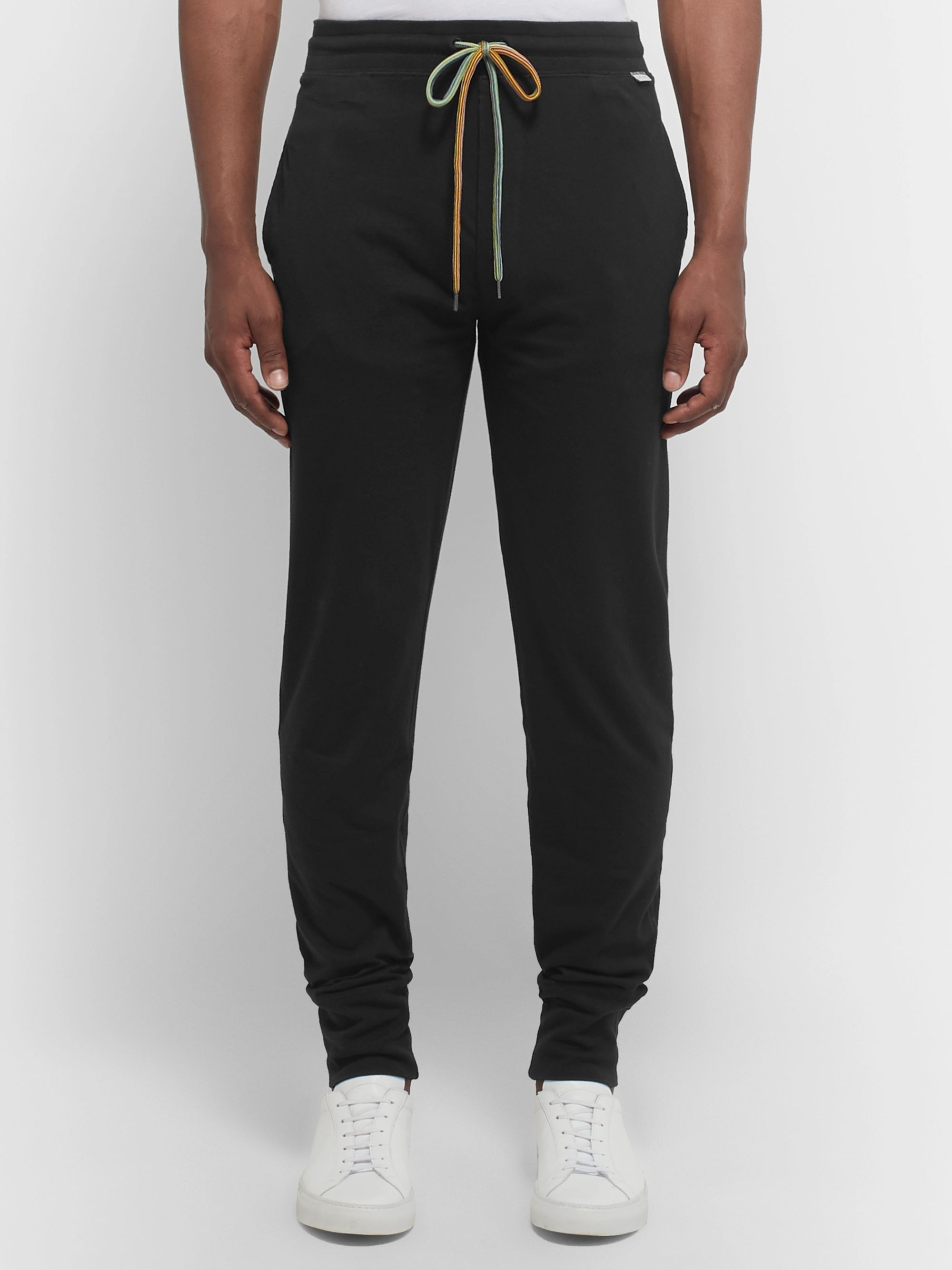 Paul Smith Slim-Fit Tapered Cotton-Jersey Sweatpants