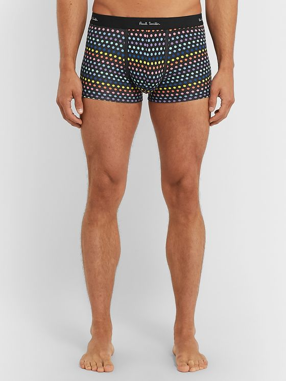 Paul Smith Polka-Dot Stretch-Cotton Boxer Briefs