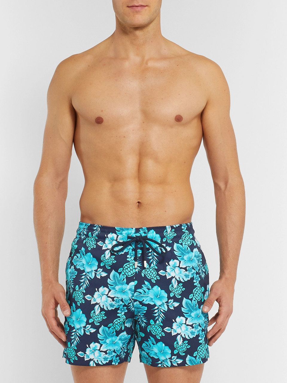 077898b812 Vilebrequin Moorise Slim-Fit Mid-Length Printed Swim Shorts