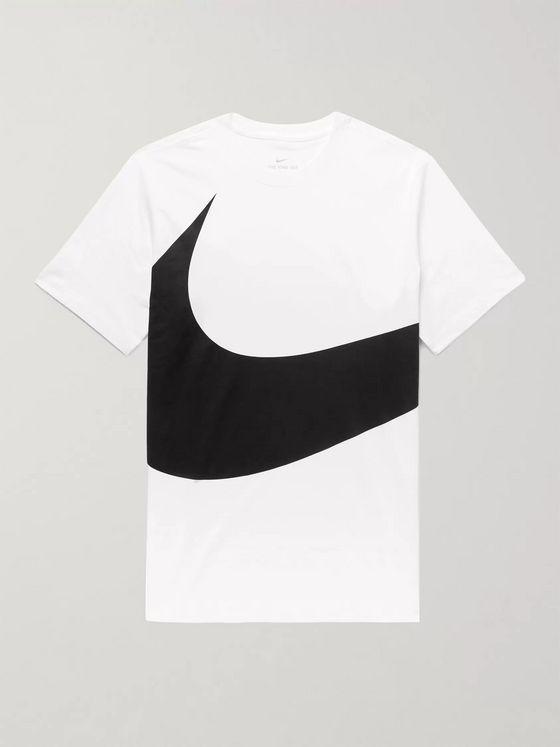 Nike men's Air Max Logo Crew Cotton T Shirt