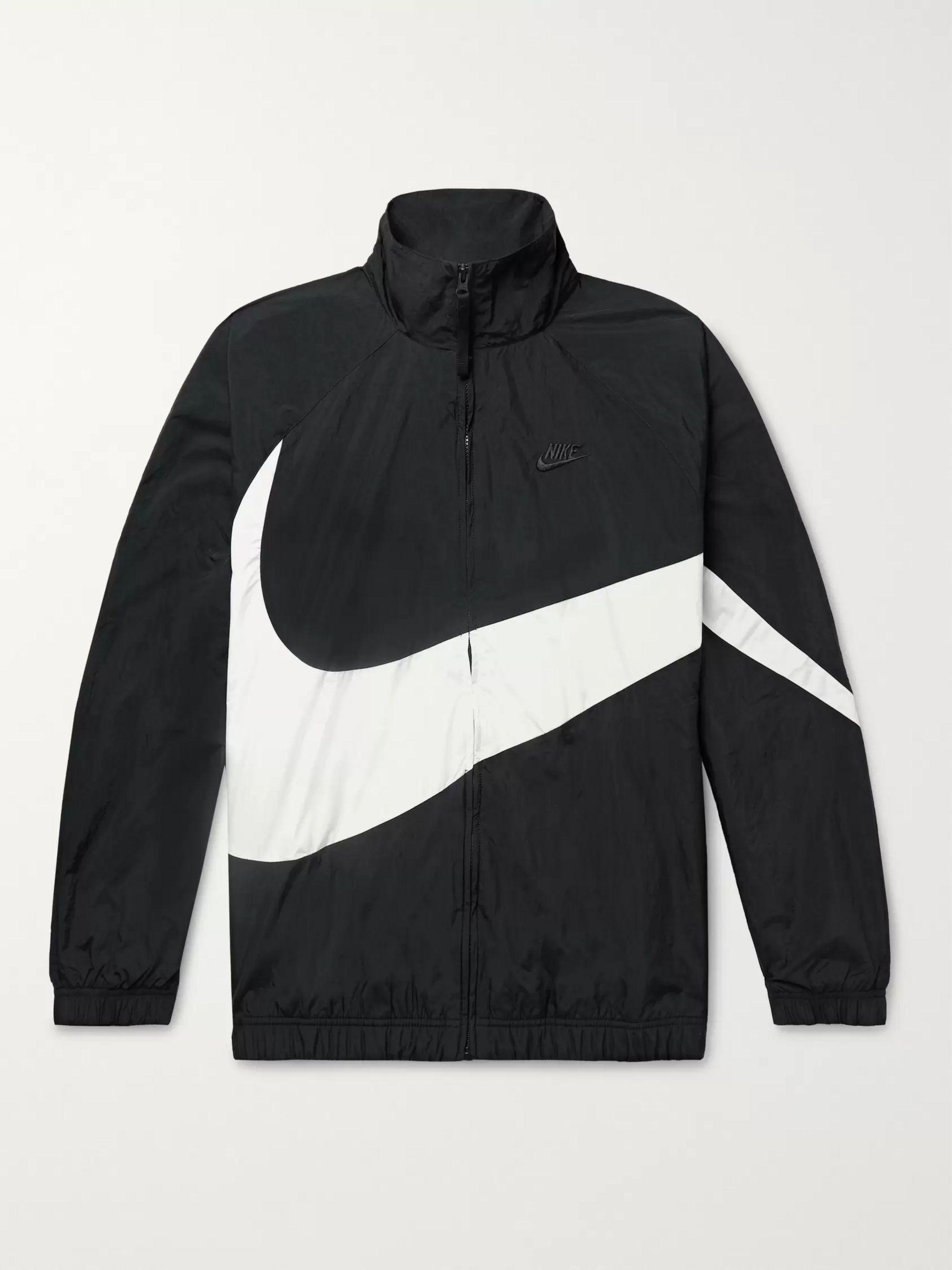 nike jacket logo