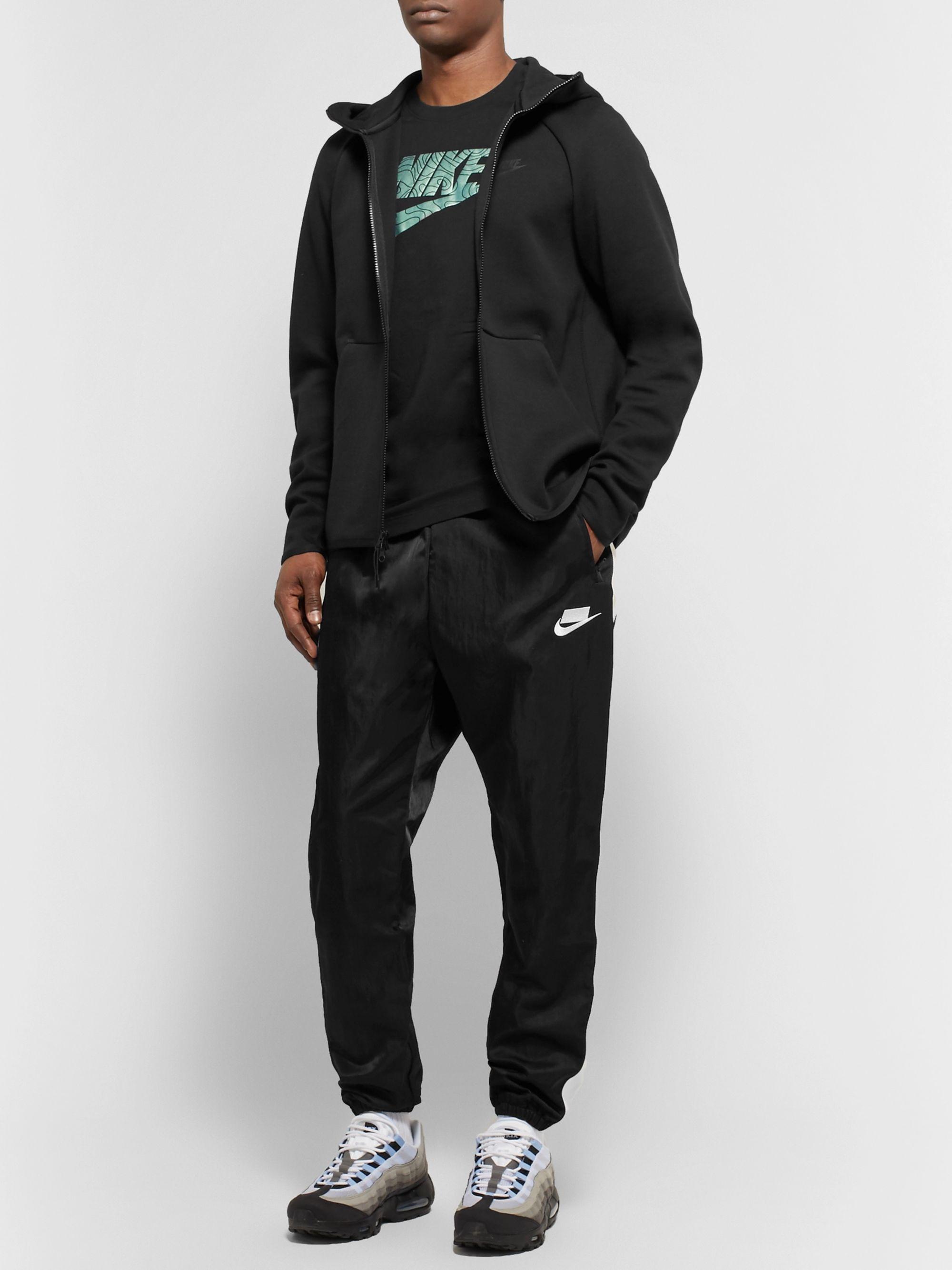 Sportswear Cotton blend Tech fleece Zip up Hoodie