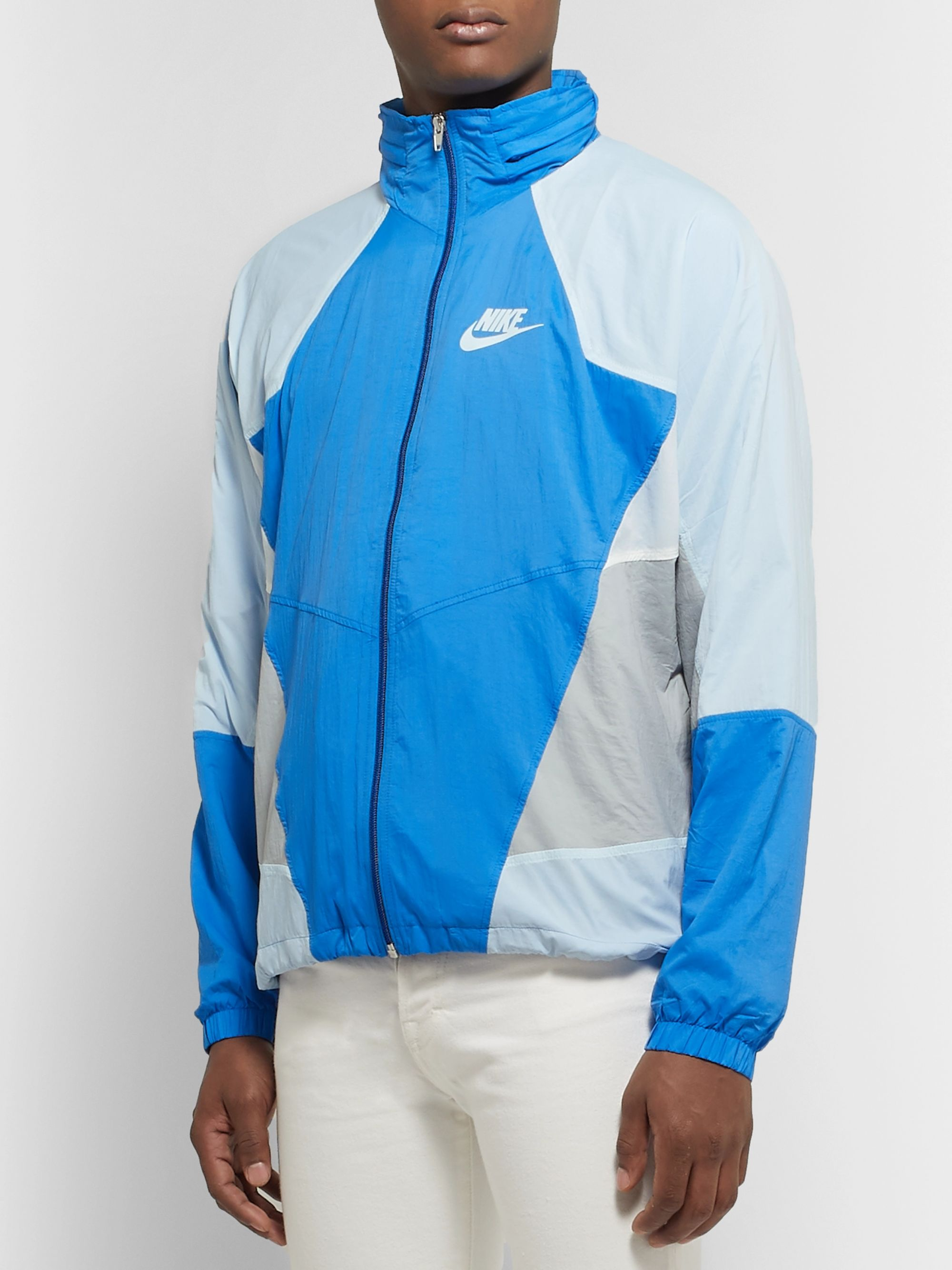 Nike Sportswear Re-Issue Colour-Block Nylon-Ripstop Track Jacket