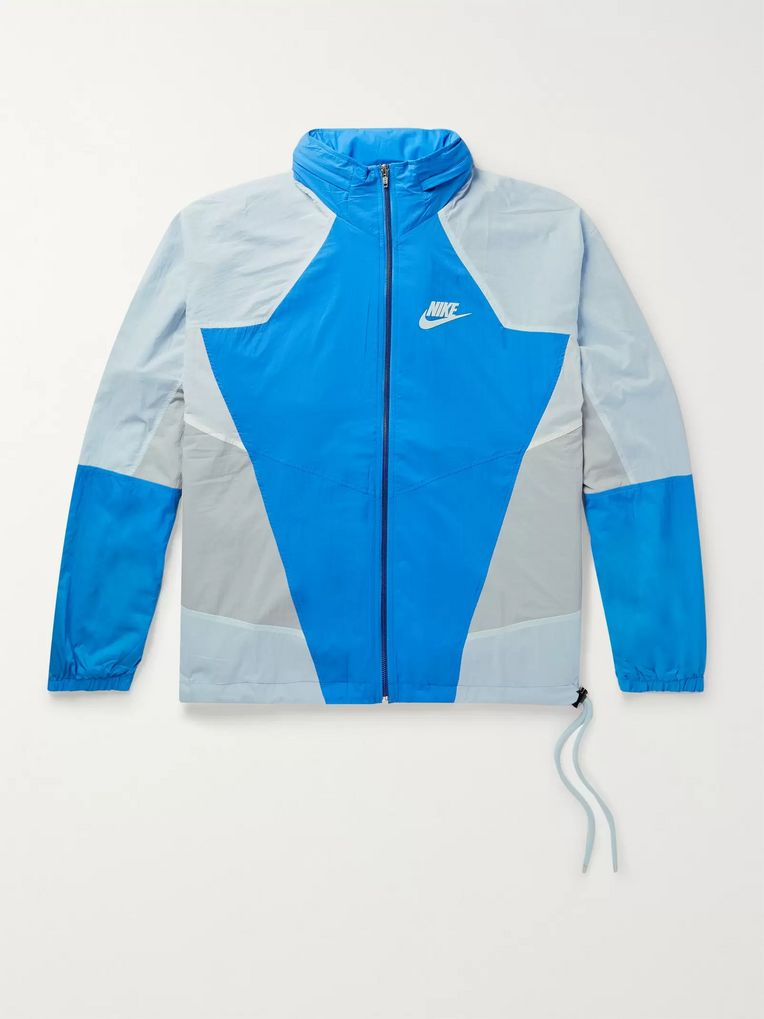 b724840f311b1 Sportswear Re-Issue Colour-Block Nylon-Ripstop Track Jacket