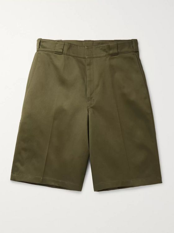 Prada Cotton-Twill Chino Shorts
