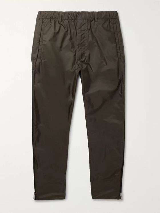 Prada Slim-Fit Tapered Nylon Track Pants