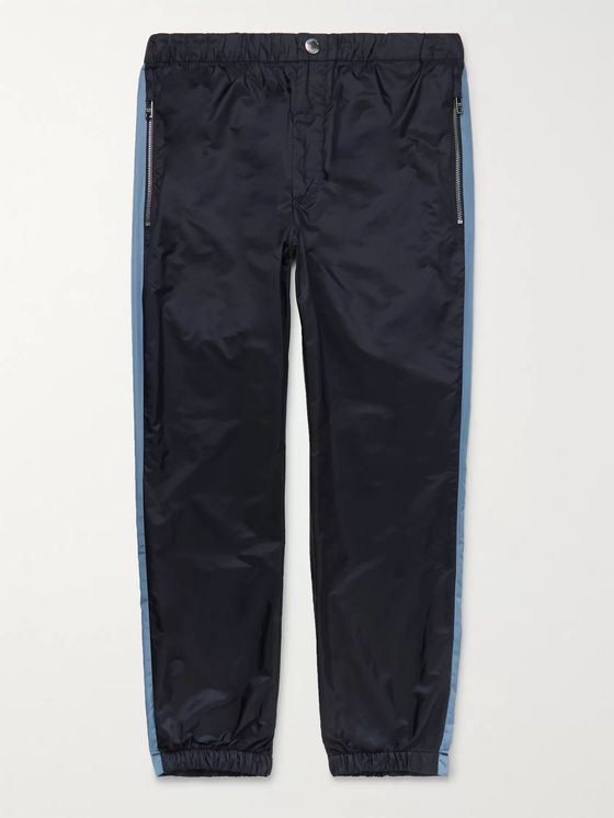 Prada Slim-Fit Nylon-Shell Track Pants