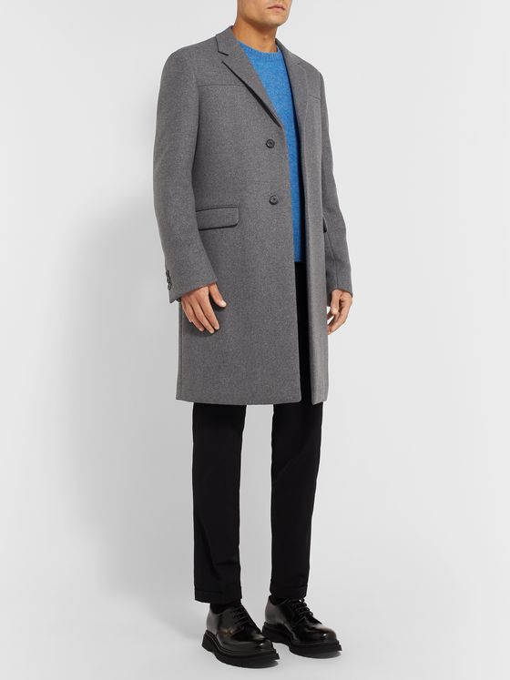 Prada Virgin Wool-Blend Coat