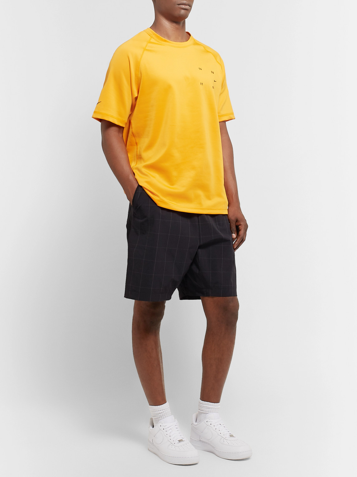 Nike Tops SPORTSWEAR TECH PACK CHECKED STRETCH