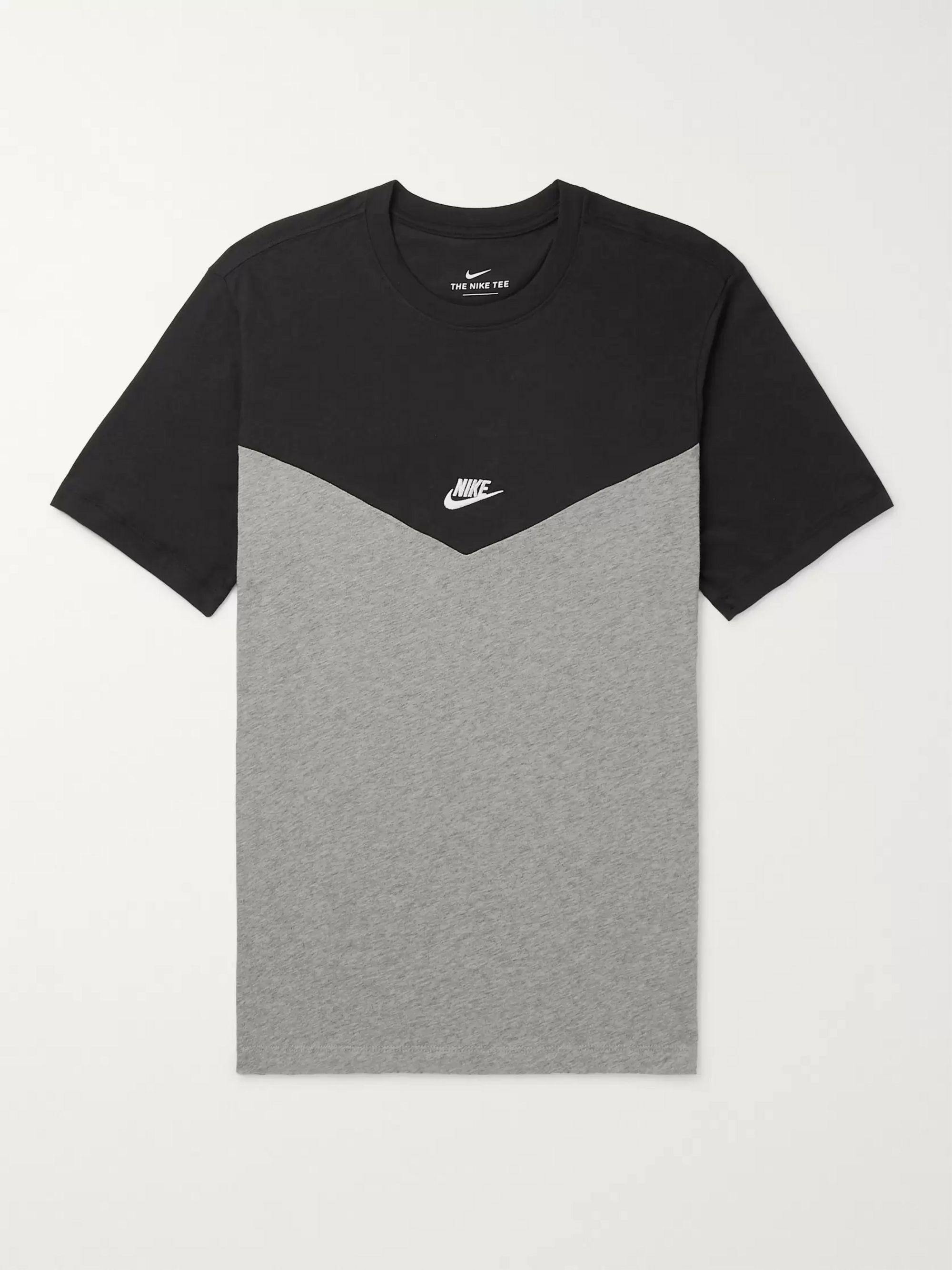 nike t shirt black