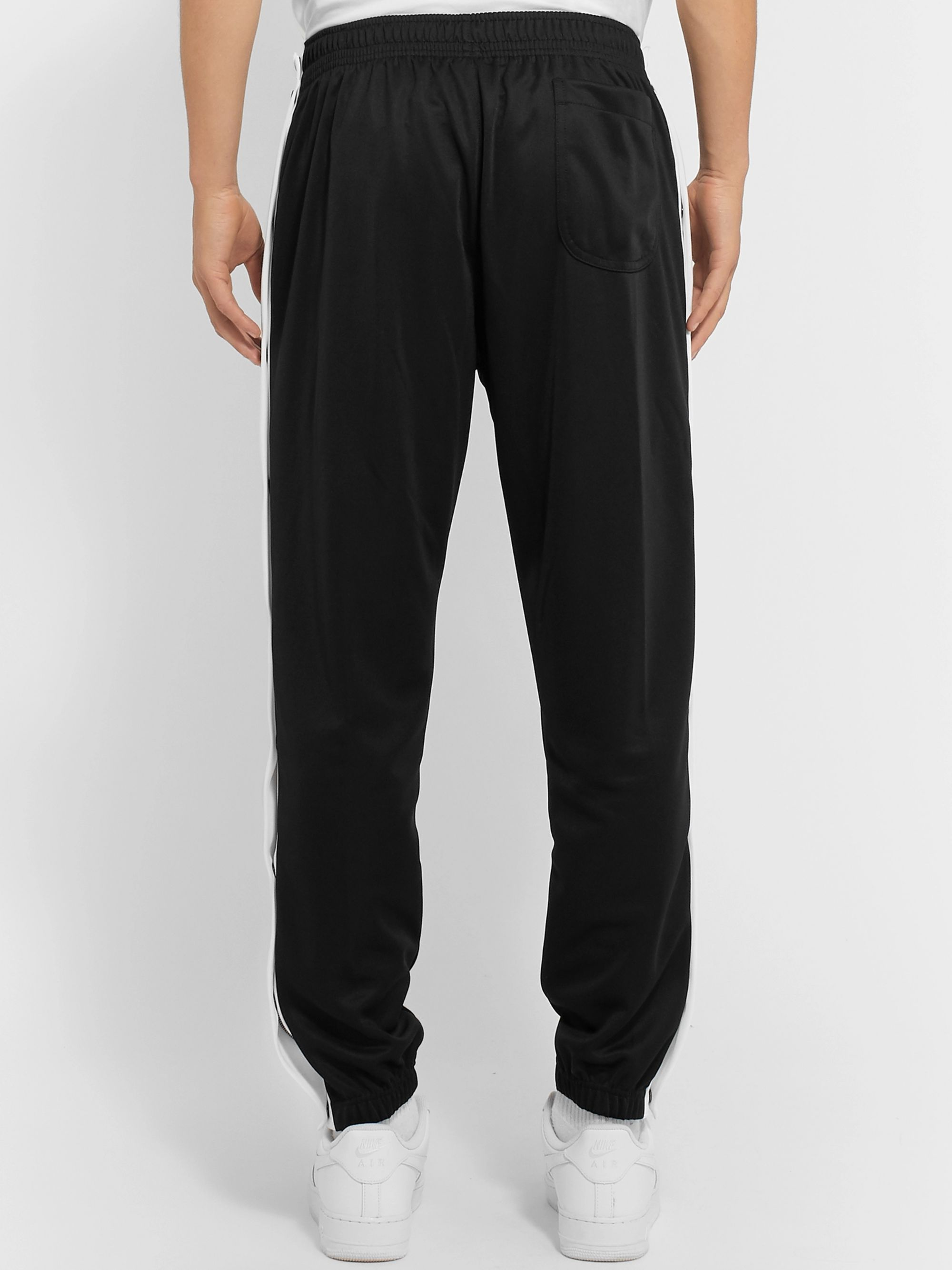 Nike Tapered Logo-Embroidered Jersey Sweatpants