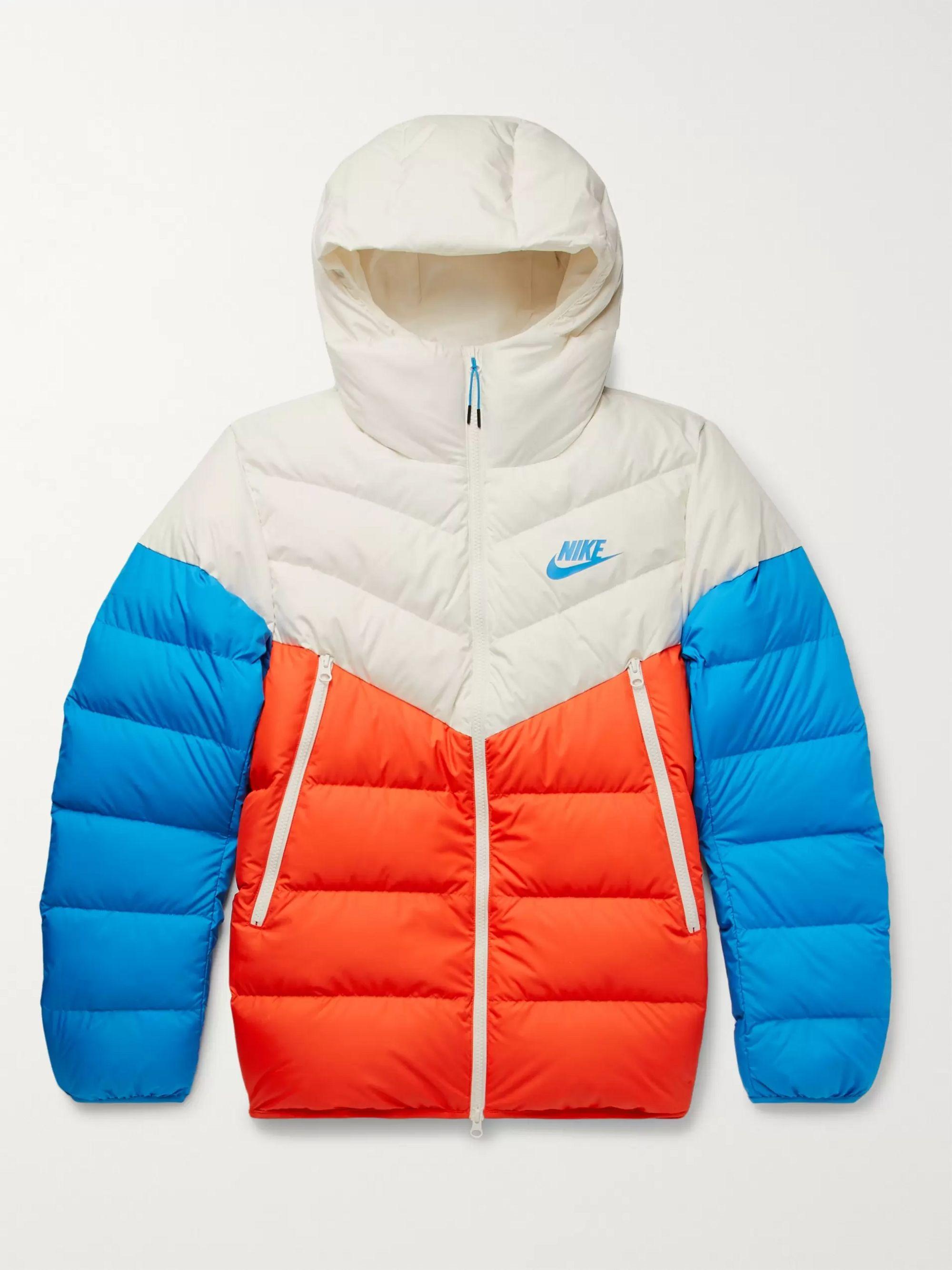 Nike Windrunner winter jacket grey red