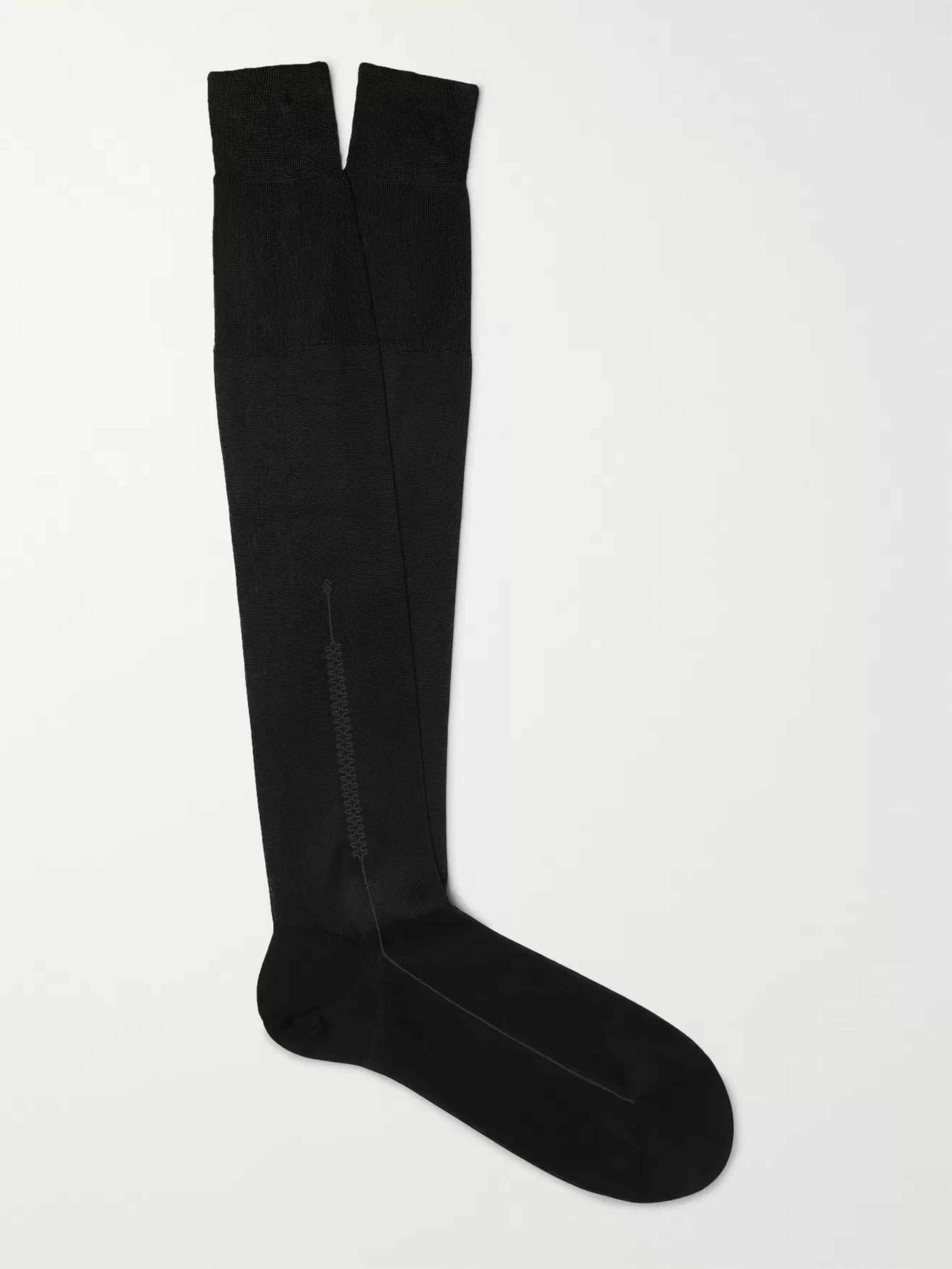 TOM FORD Silk and Cotton-Blend Socks