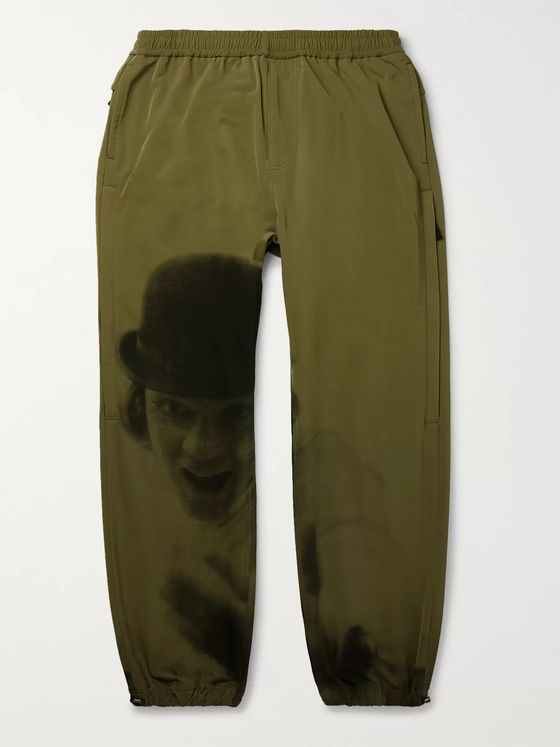 Undercover Tapered Printed Shell Trousers