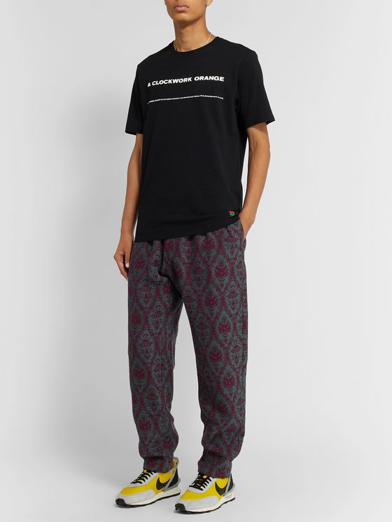 Undercover + Valentino Jacquard Trousers