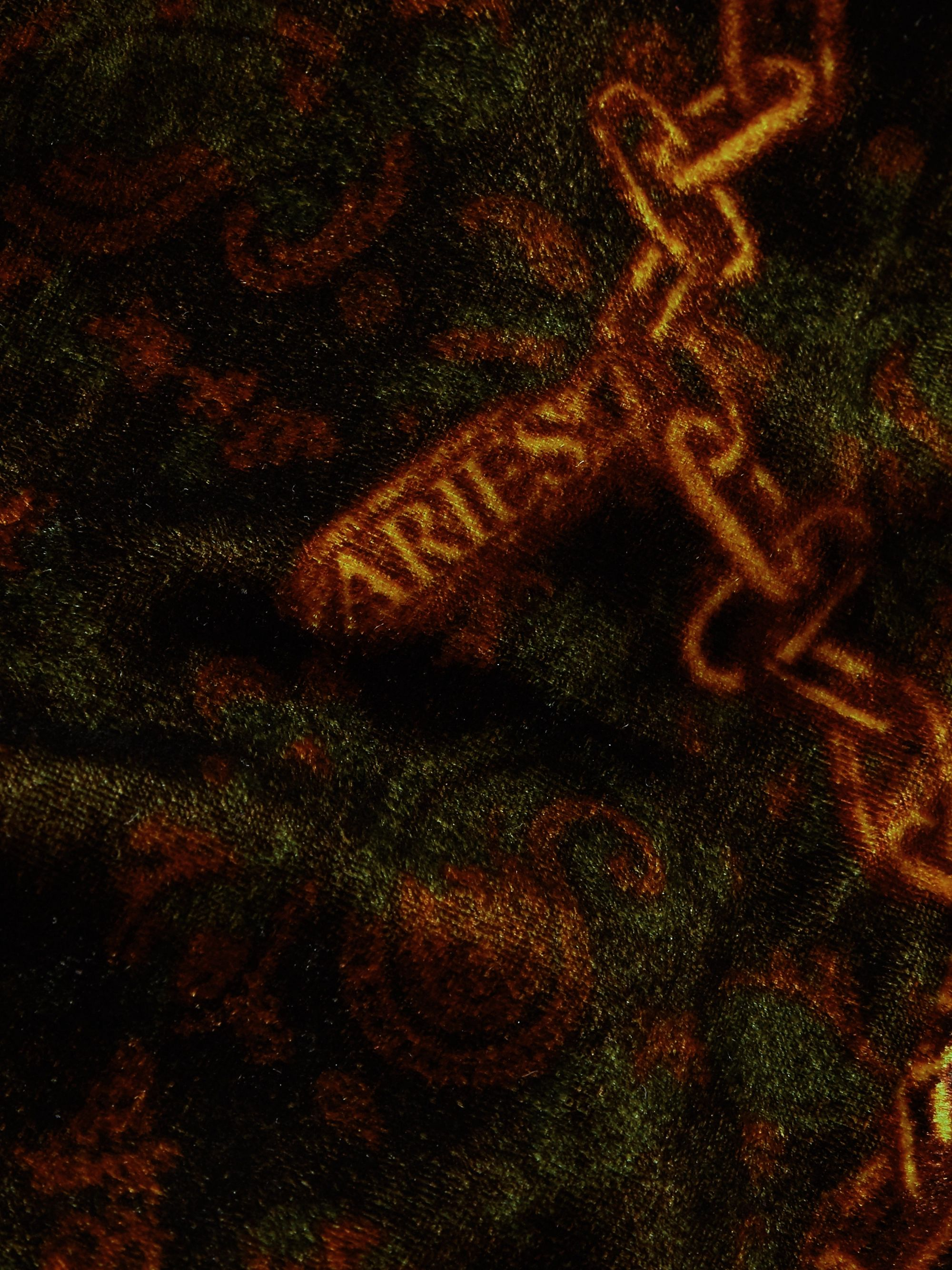 Aries Printed Velvet Shirt
