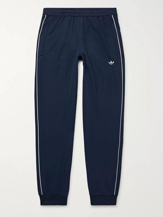 adidas Originals Samstag Piped Stretch-Knit Track Pants