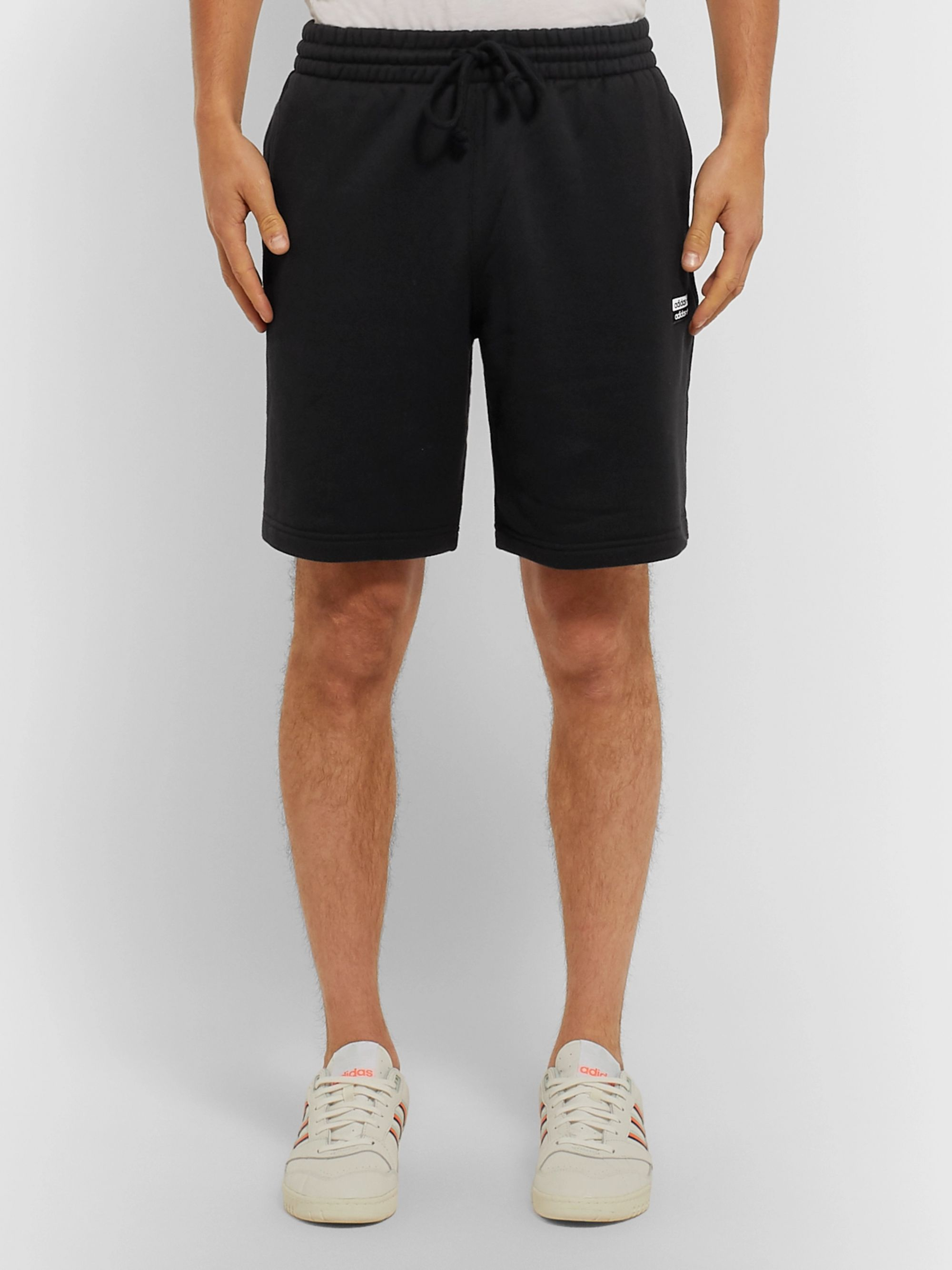 adidas Originals Vocal Logo-Appliquéd French Cotton-Terry Shorts