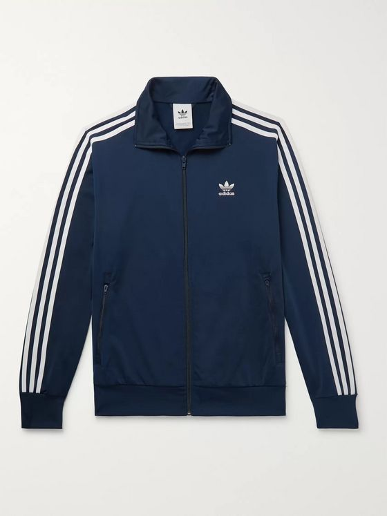 adidas Originals Firebird Striped Nylon-Tricot Track Jacket