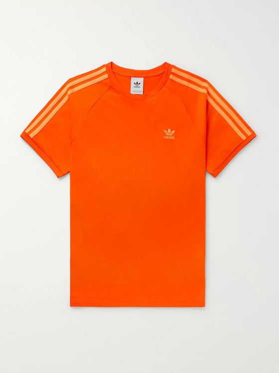 adidas Originals Logo-Embroidered Cotton-Jersey T-Shirt