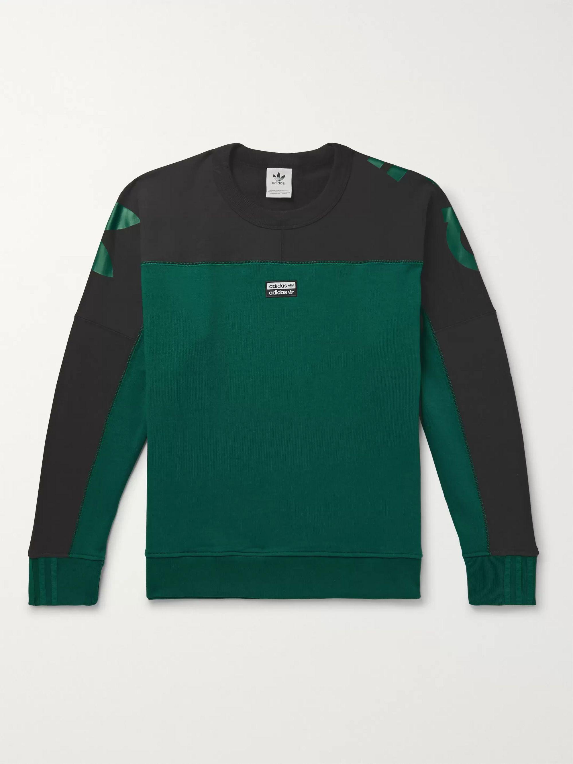R.Y.V. Logo Print Loopback Cotton Jersey Sweatshirt