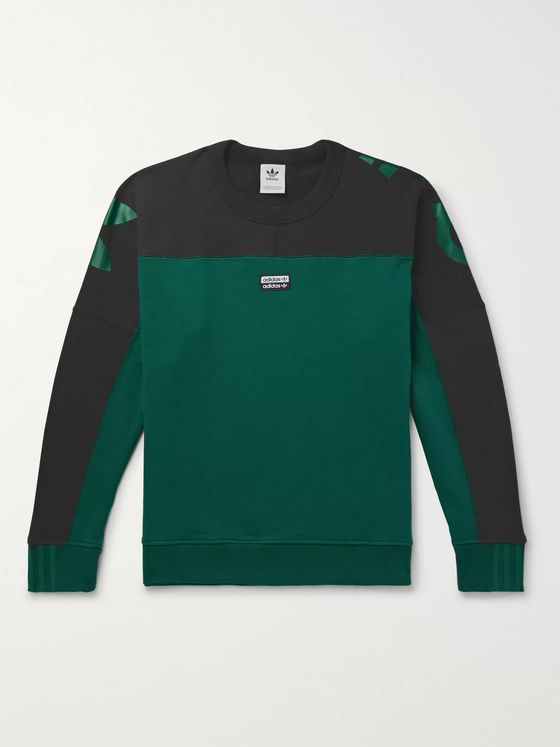 adidas Originals R.Y.V. Logo-Print Loopback Cotton-Jersey Sweatshirt