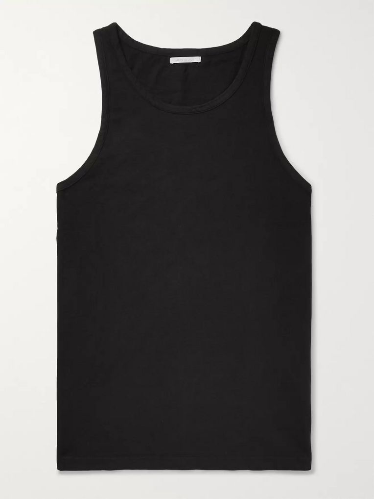 John Elliott Oversized Cotton-Jersey Tank Top