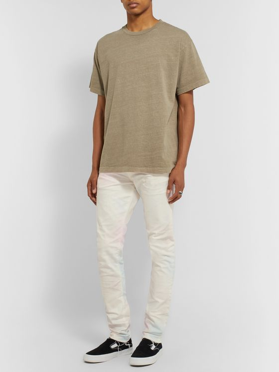 John Elliott The Cast 2 Slim-Fit Distressed Denim Jeans