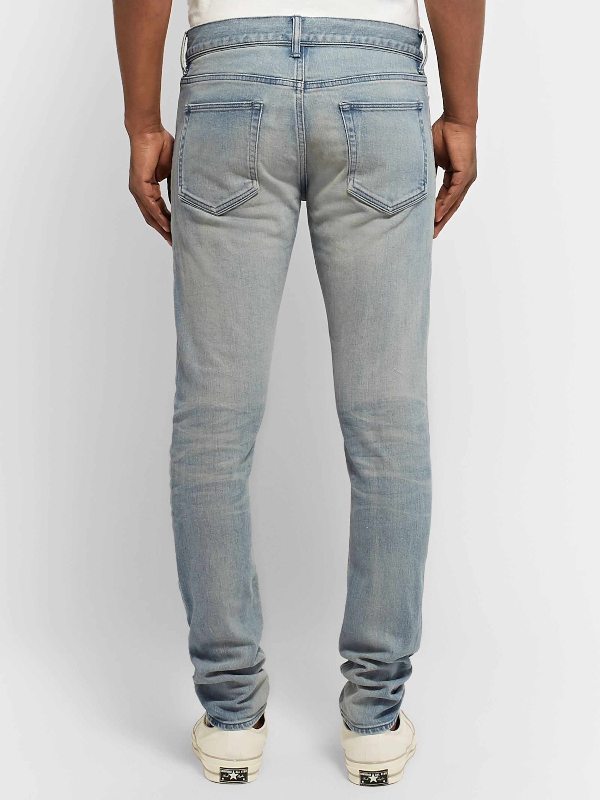 John Elliott The Cast 2 Slim-Fit Washed-Denim Jeans