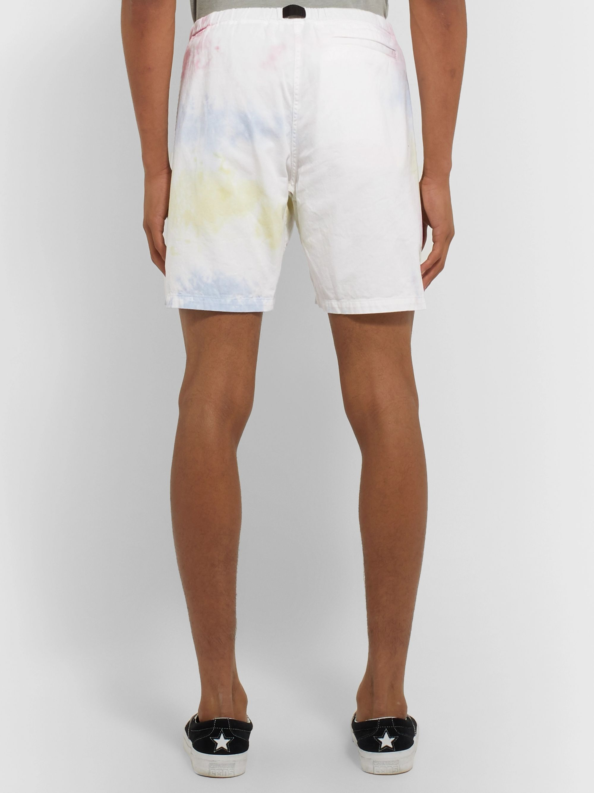 John Elliott Tie-Dyed Cotton Shorts