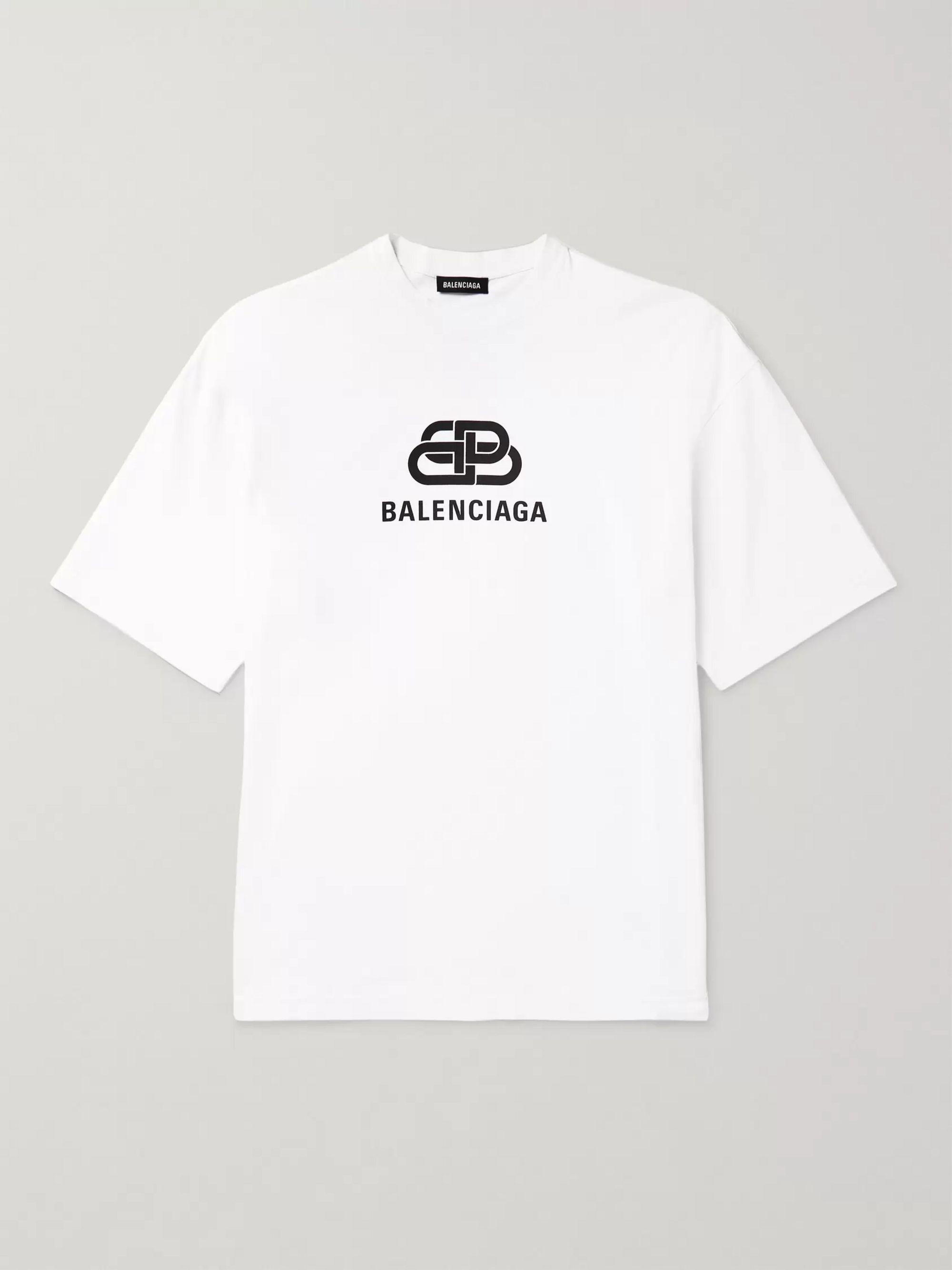 pas mal 2feb3 b25a2 Logo-Print Cotton-Jersey T-shirt