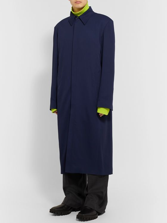 Balenciaga Oversized Cotton Raincoat