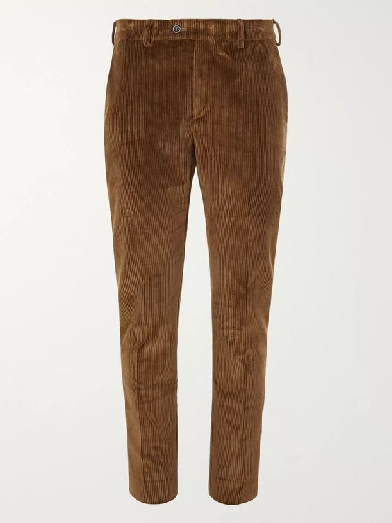 SALLE PRIVÉE Gehry Slim-Fit Cotton-Corduroy Suit Trousers