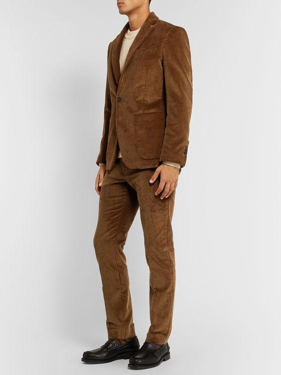 SALLE PRIVÉE Esben Slim-Fit Cotton-Corduroy Suit Jacket