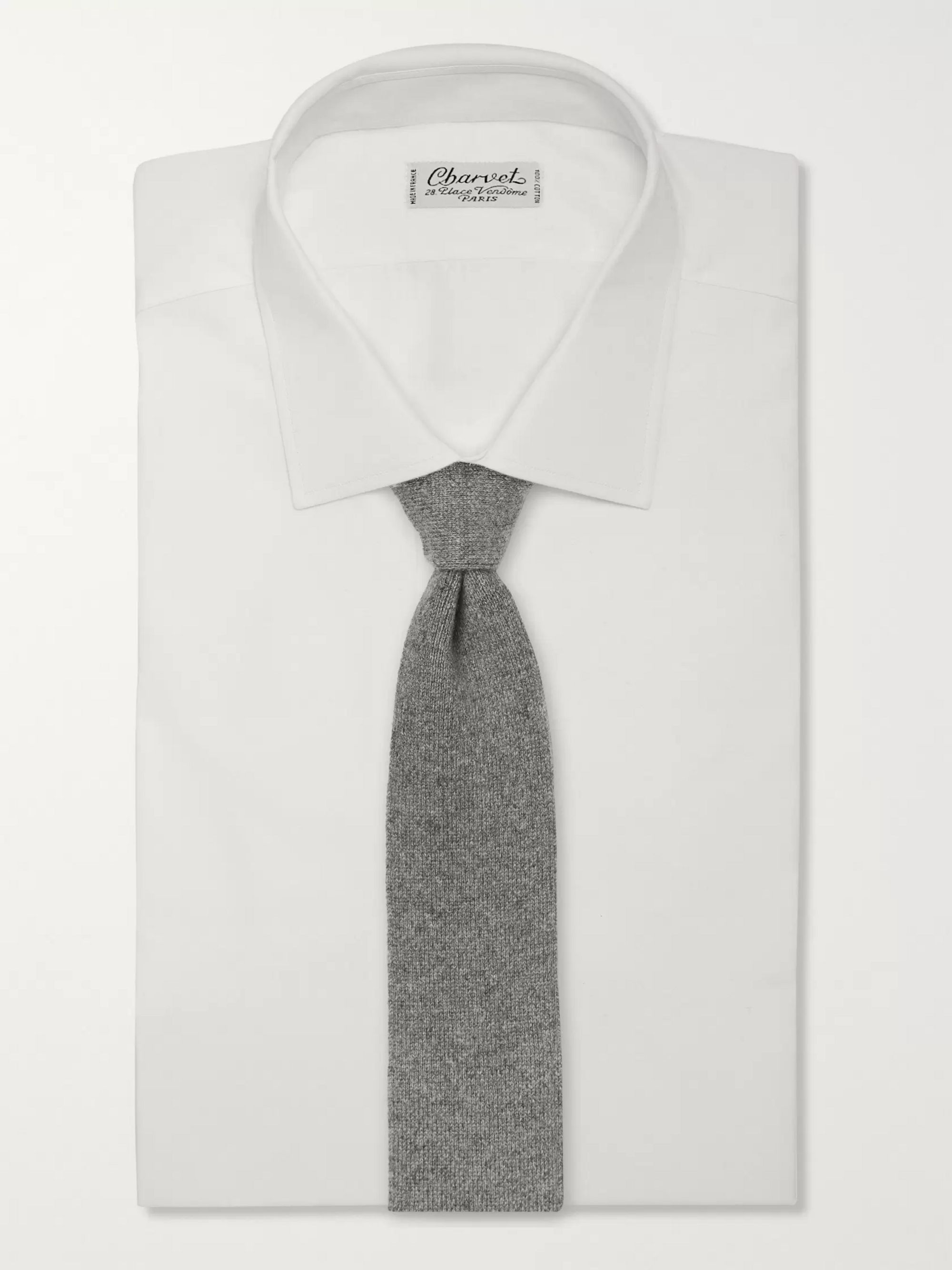 Richard James 7cm Mélange Cashmere Tie