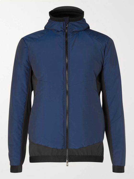 Sease Predator Quilted Wool-Blend and Shell Ski Jacket