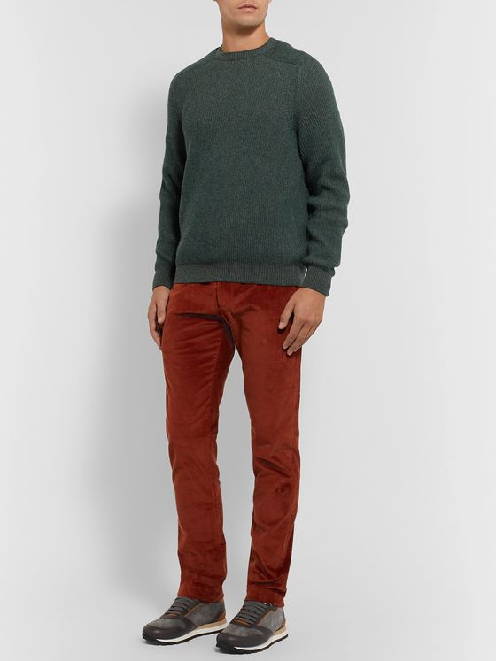 SEASE Dinghy Reversible Ribbed Cashmere Sweater