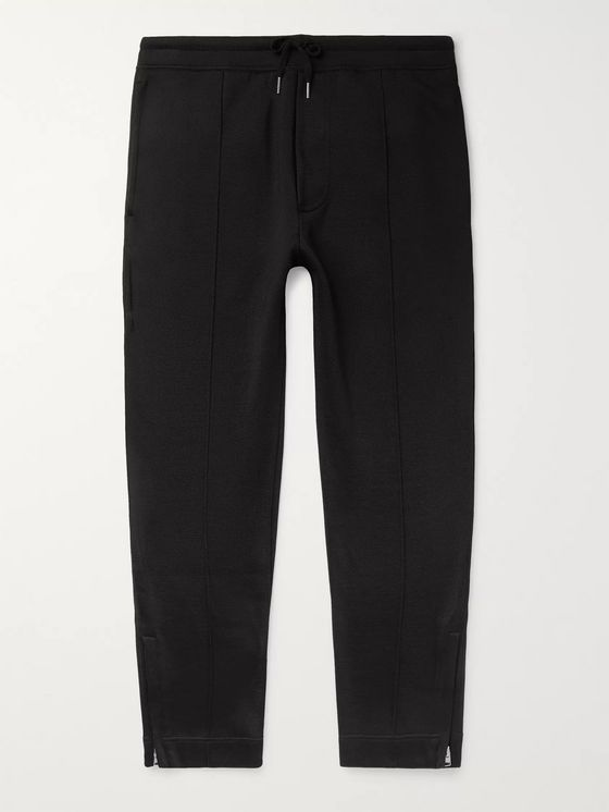 TOM FORD Cotton-Blend Jersey Sweatpants