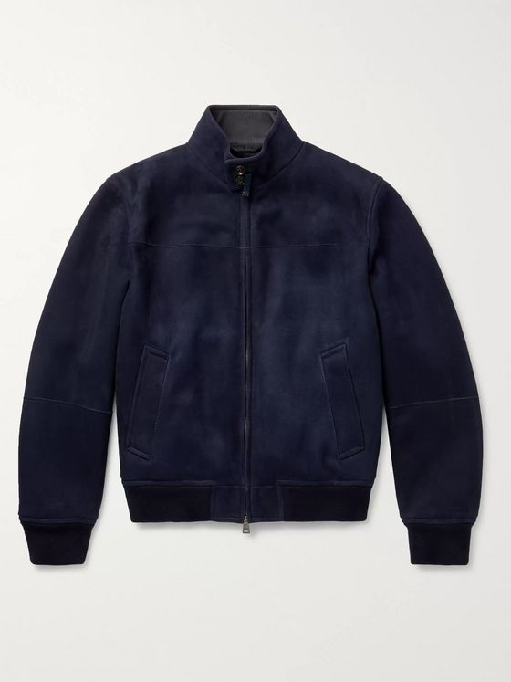 BRIONI Shearling Bomber Jacket