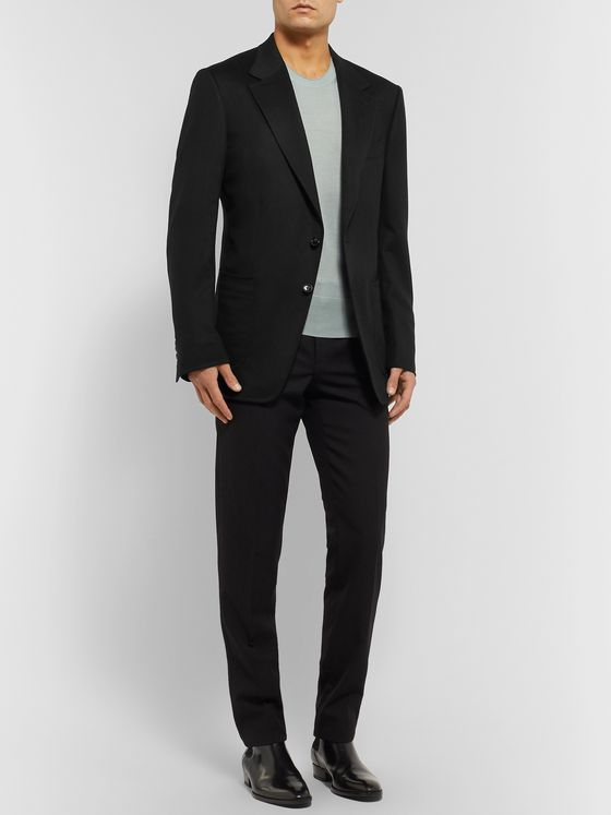 TOM FORD Black Shelton Cashmere Blazer