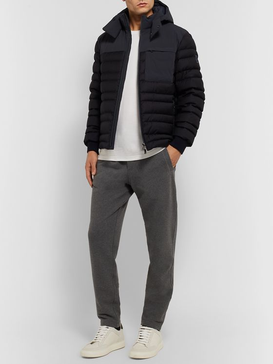 Z Zegna Slim-Fit Quilted Shell Hooded Down Jacket